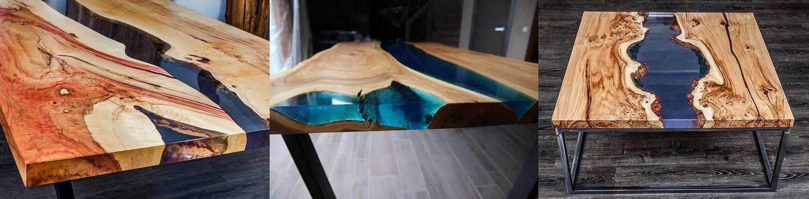 Эксклюзивная мебель из полимера Live Edge