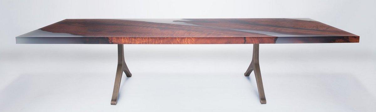 Как сохранить мебель из эпоксидной смолы и жидкого стекла